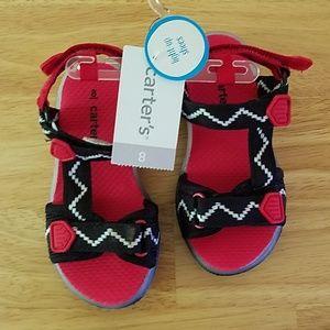 Nwt Carter's sandals light up 8 shoes toddler boy